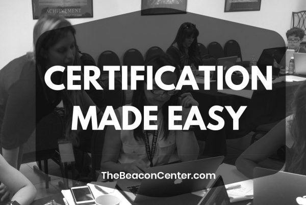 certification renewals