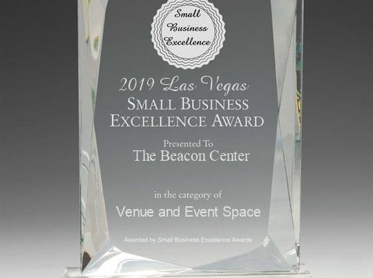 2019 Small Business Excellence Award Photo