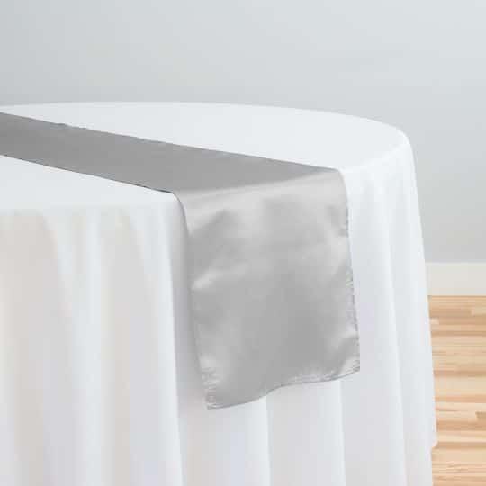 Silver Table Runner
