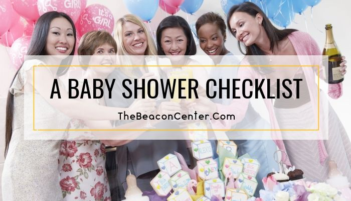 Baby Shower Checklist Photo