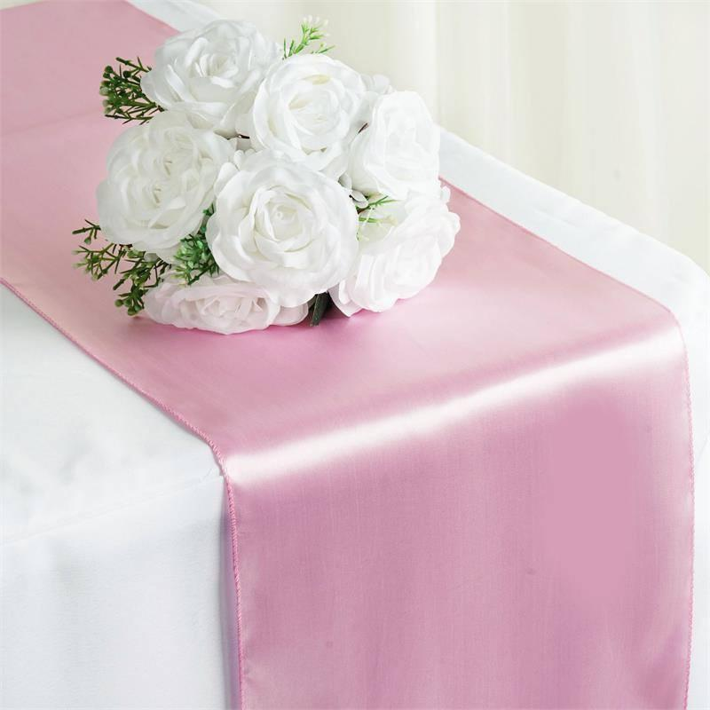 Baby Pink Table Runner