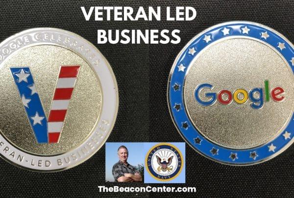 Veteran-Led Business Google Coin Photo