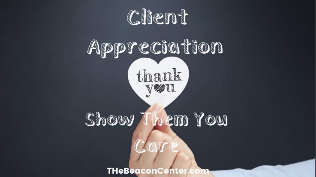 Client appreciation photo