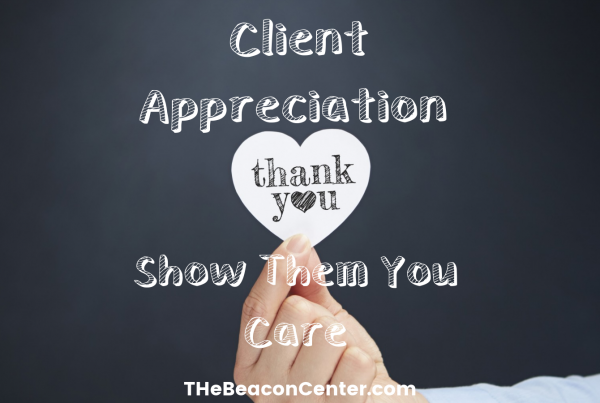 Client appreciation photo