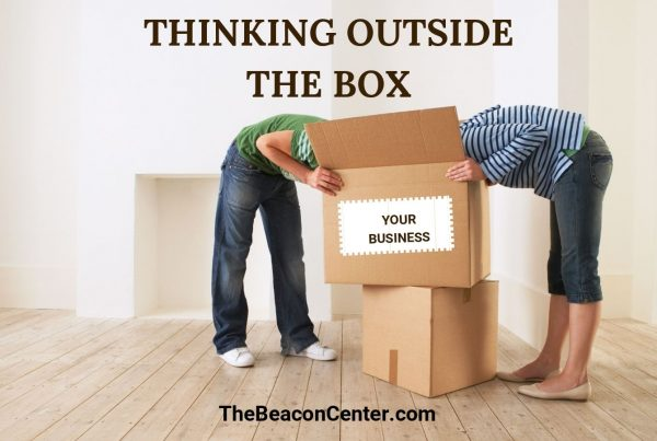 Thinking outside the box photo