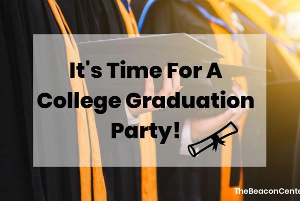 College Graduation Party Photo