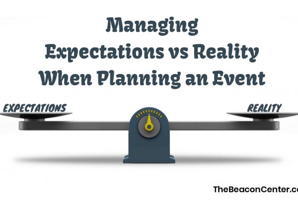 Managing Expectations vs Reality Photo