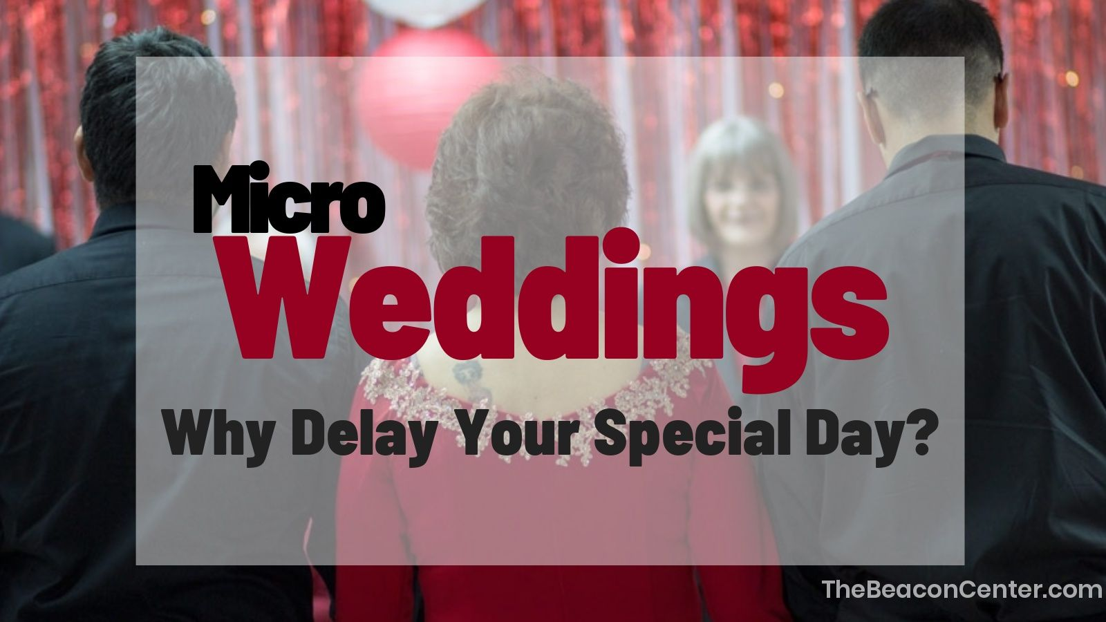 Micro Wedding Photo