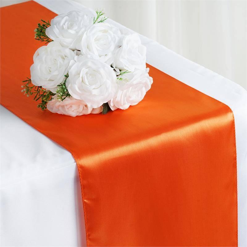 Orange Table Runner