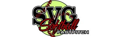 SVG Softball Logo