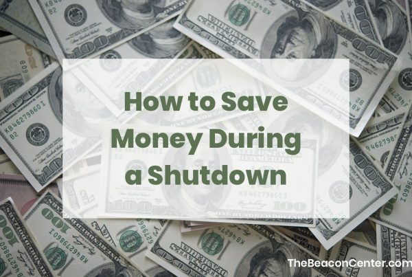 save money during a shutdown photo