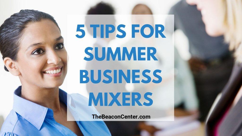 Summer Business Mixer Photo