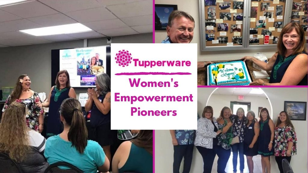 Tupperware Womens empowement photo