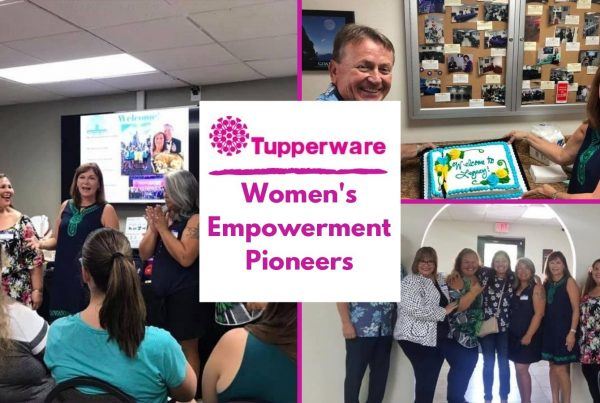 Tupperware Womens empowement photo