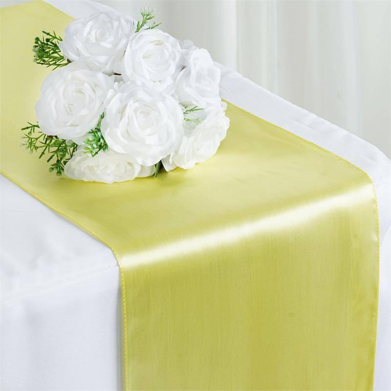 Yellow Table Runner