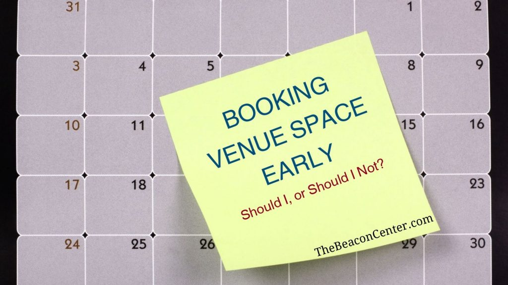 booking venue space photo