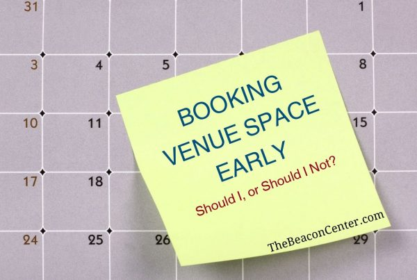 booking venue space photo