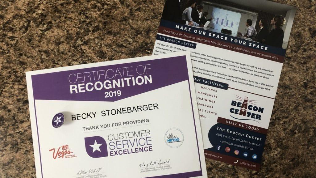 customer service excellence award photo