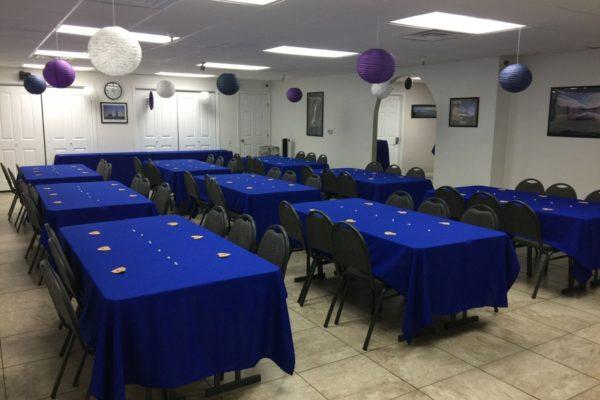 Blue Setup Photo