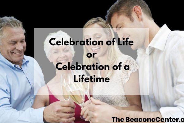 Celebration of life photo