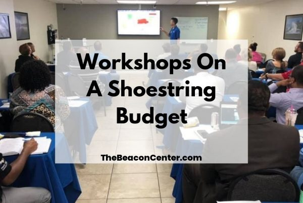 Workshops on shoestring budget photo